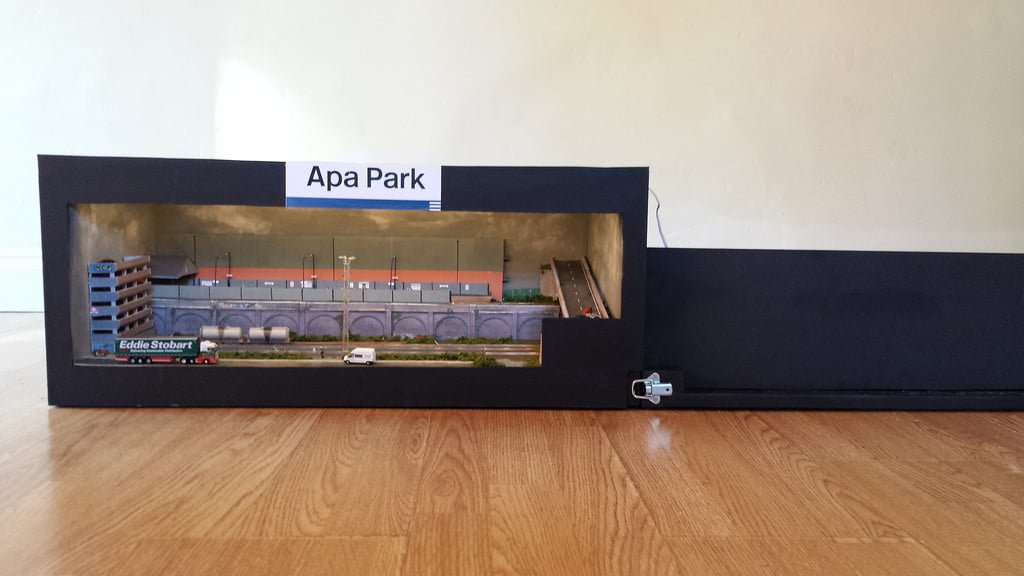 APA Park, Model Railway In An APA Box