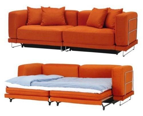 Ikea Orange Sofa Friheten Corner Sofa Bed With Storage