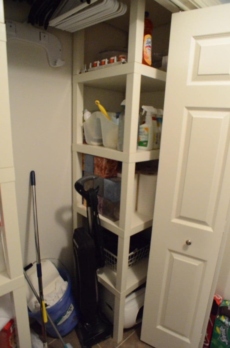 Lack Side Table Closet - IKEA Hackers