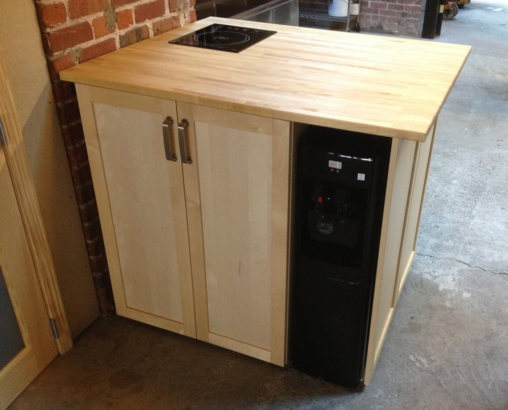 Island With Dishwasher And Water Chiller Ikea Hackers