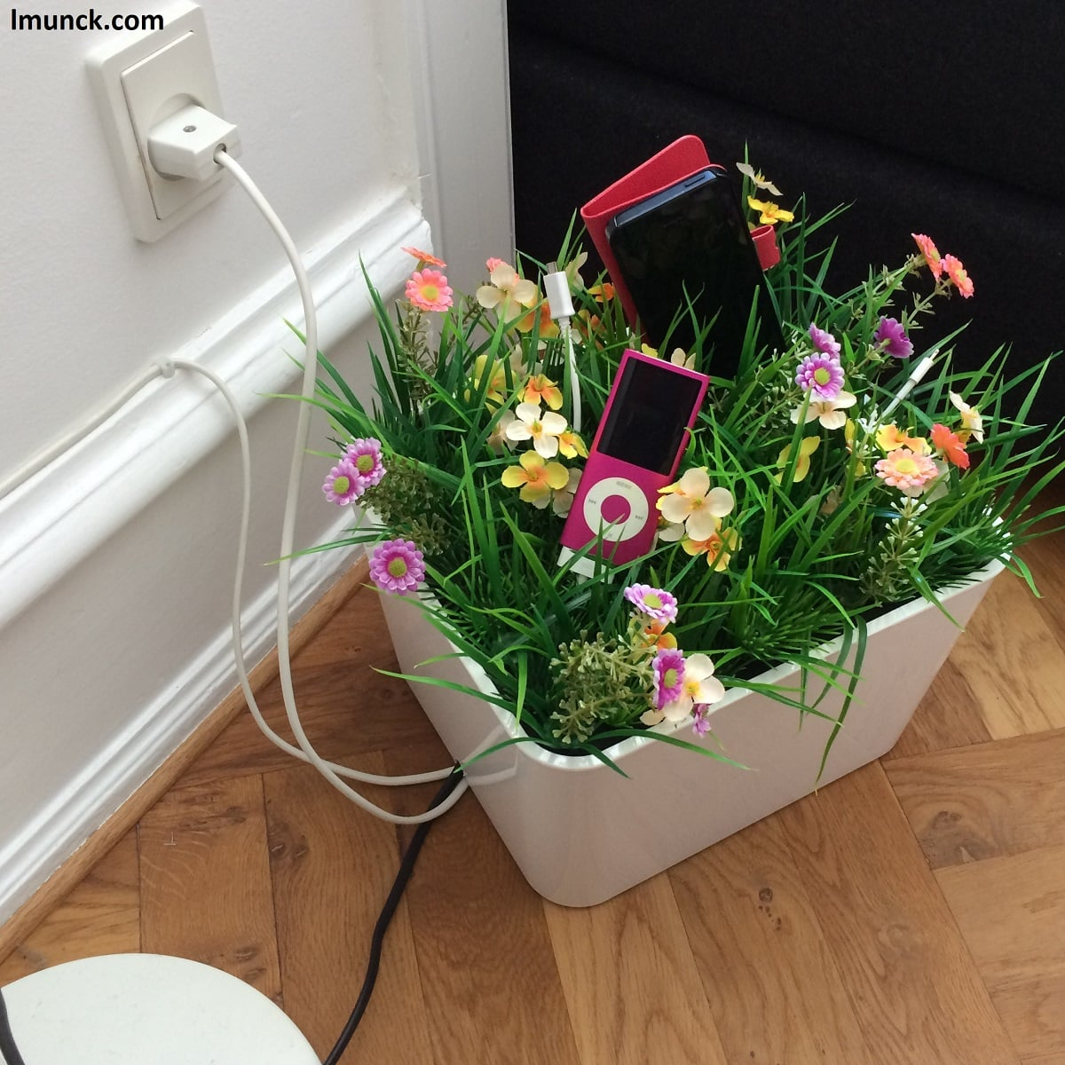 A Flower Power Charging Box Ikea Hackers