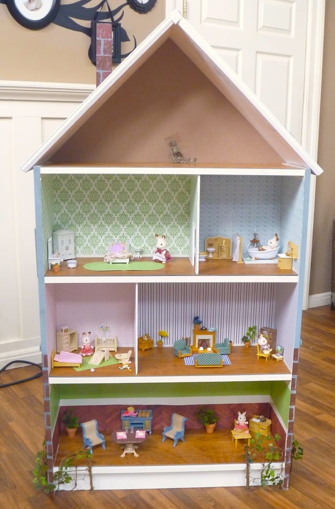 Dollhouse bookcase billy hack ikea hackers ikea hackers - Adorable dollhouse bookshelves kids to decorate the room ...