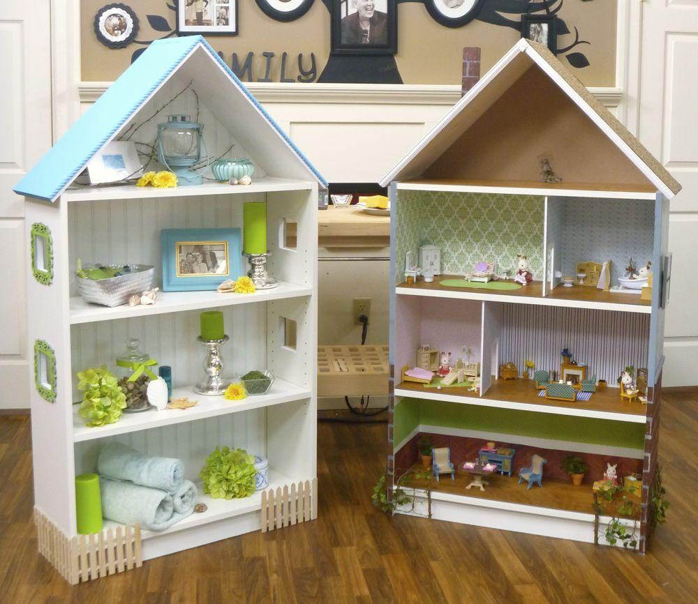 dollhouse bookcase billy hack ikea hackers ikea hackers. Black Bedroom Furniture Sets. Home Design Ideas