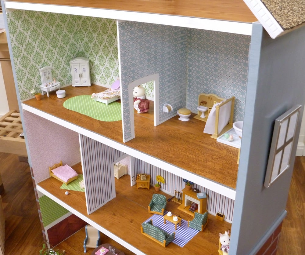 dollhouse bookcase billy hack ikea hackers ikea hackers. Black Bedroom Furniture Sets. Home Design Ideas