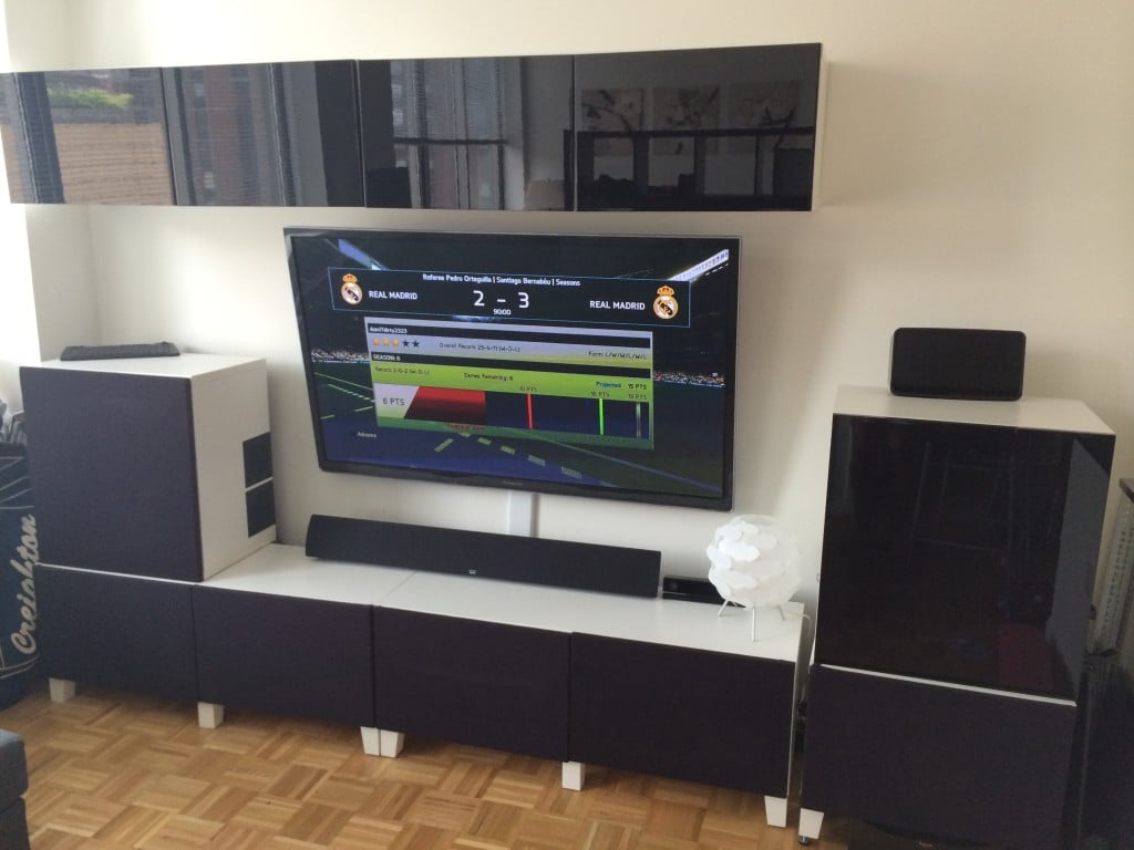 Custom Home Theater Featuring A Mohu Indoor Hdtv Antenna