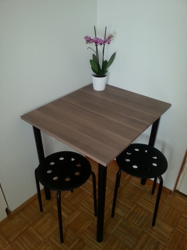 Tiny Kitchen Table From Brokhult Adils Ikea Hackers