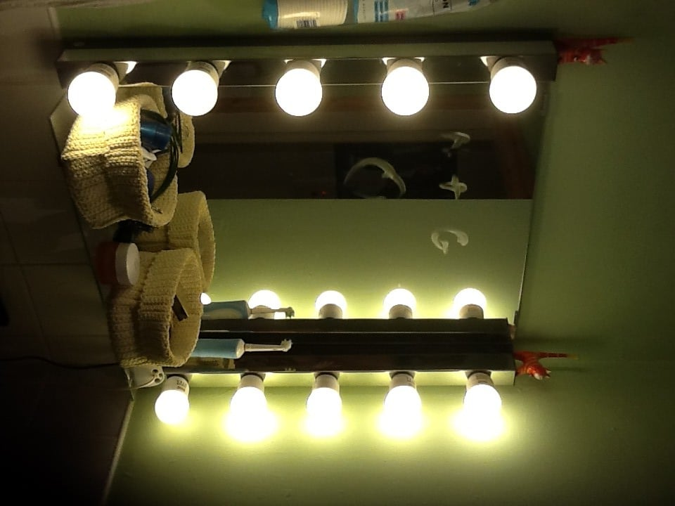 Glamorize Your Bathroom Mirror