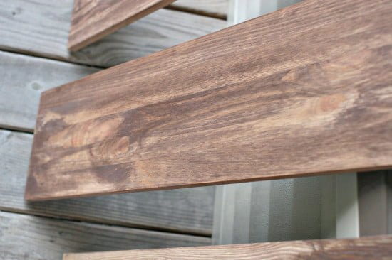 faux-weathered-wood-shelves-2coats