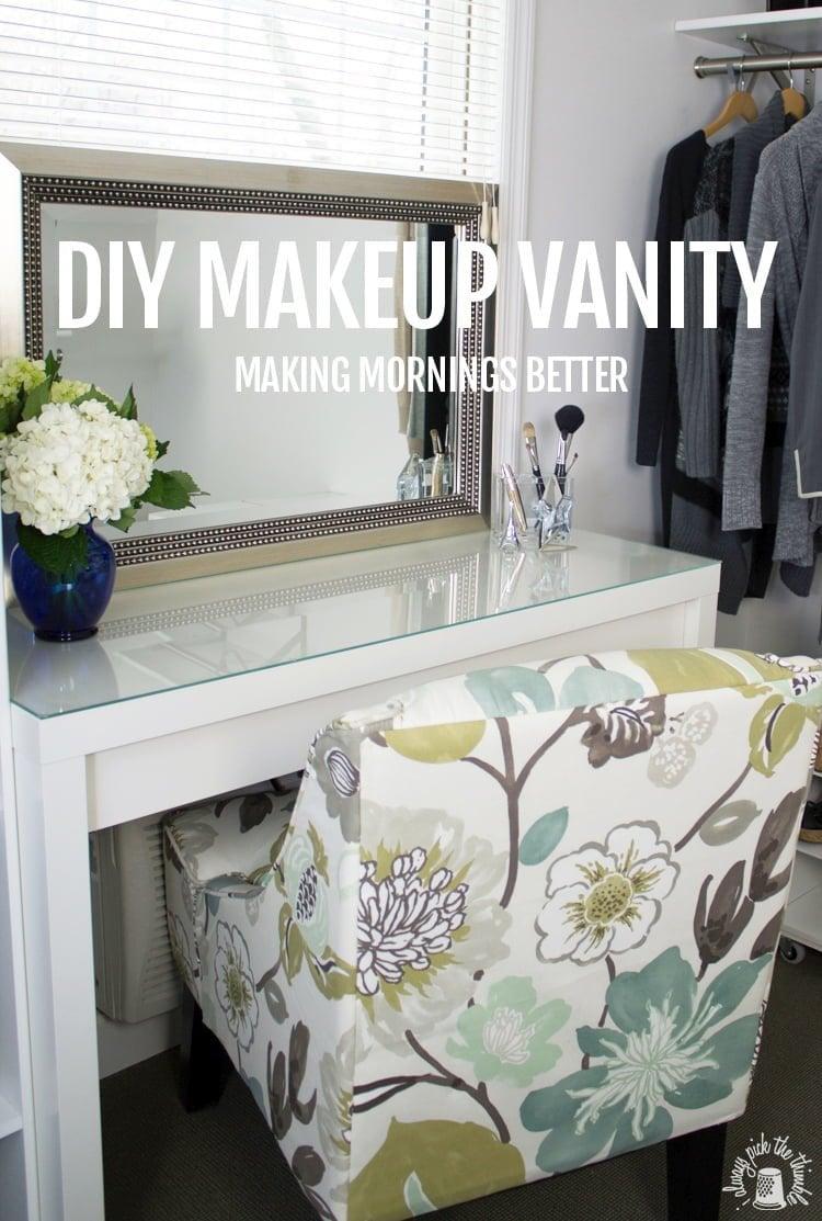 good morning makeup vanity ikea hackers ikea hackers. Black Bedroom Furniture Sets. Home Design Ideas