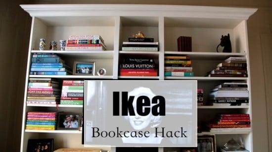 ikea book case hack