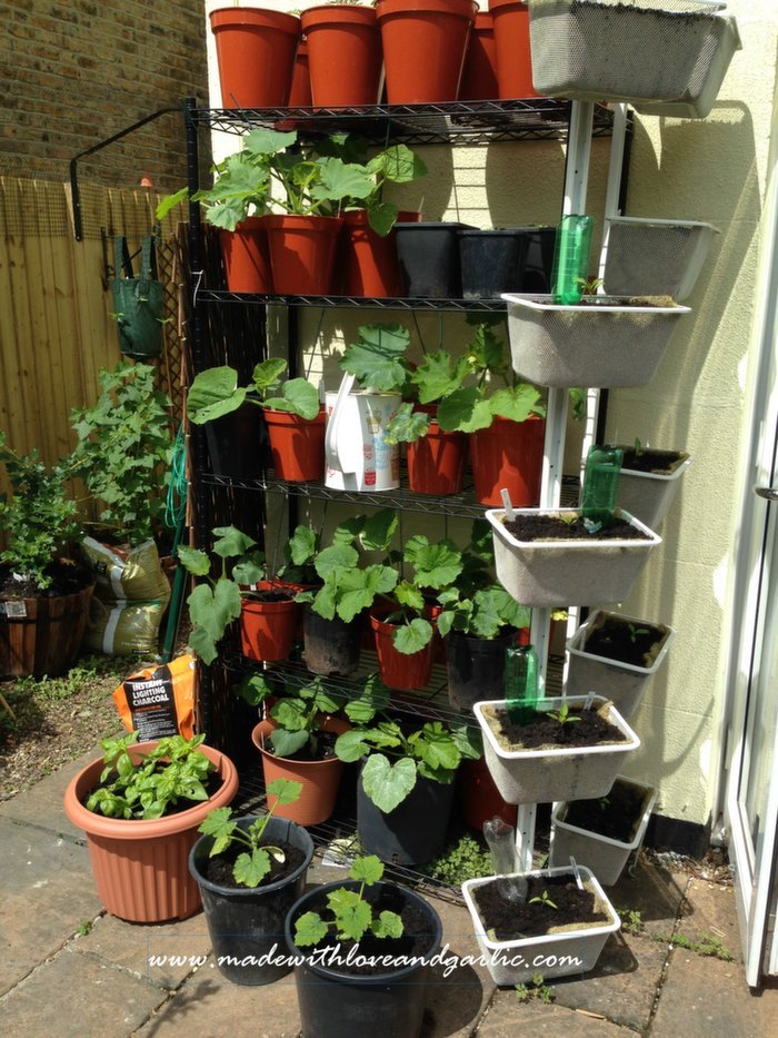 Ikea Algot Made Into Growing Baskets