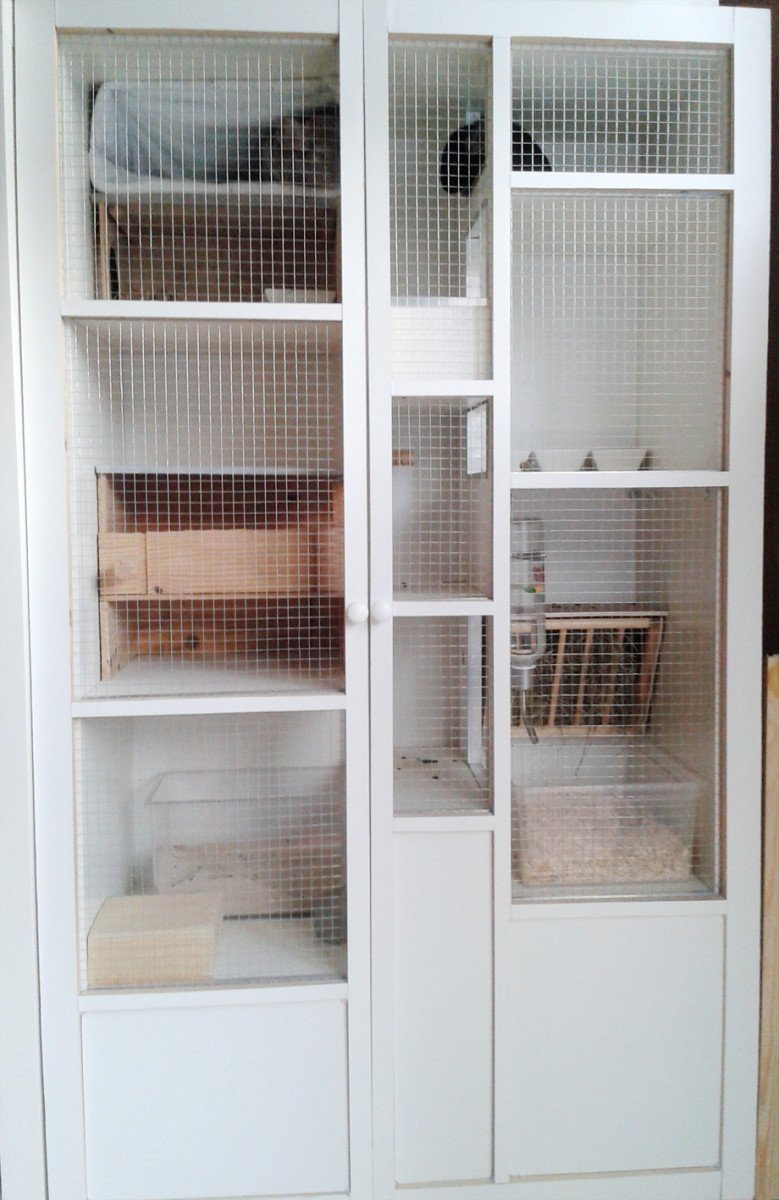 cosy and safe cage for my chinchillas