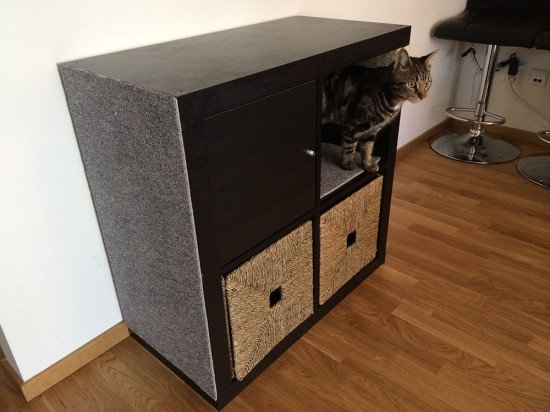 Kallax Ikea Cat Hack