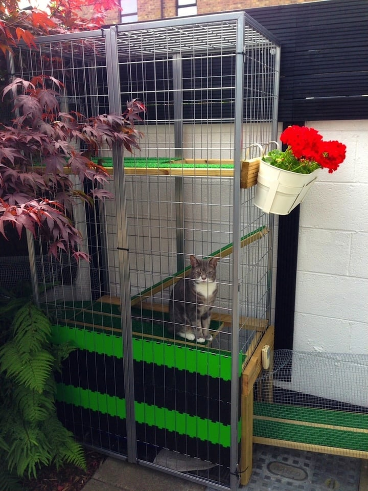 A Garden Catio Cat Paradise Ikea Hackers