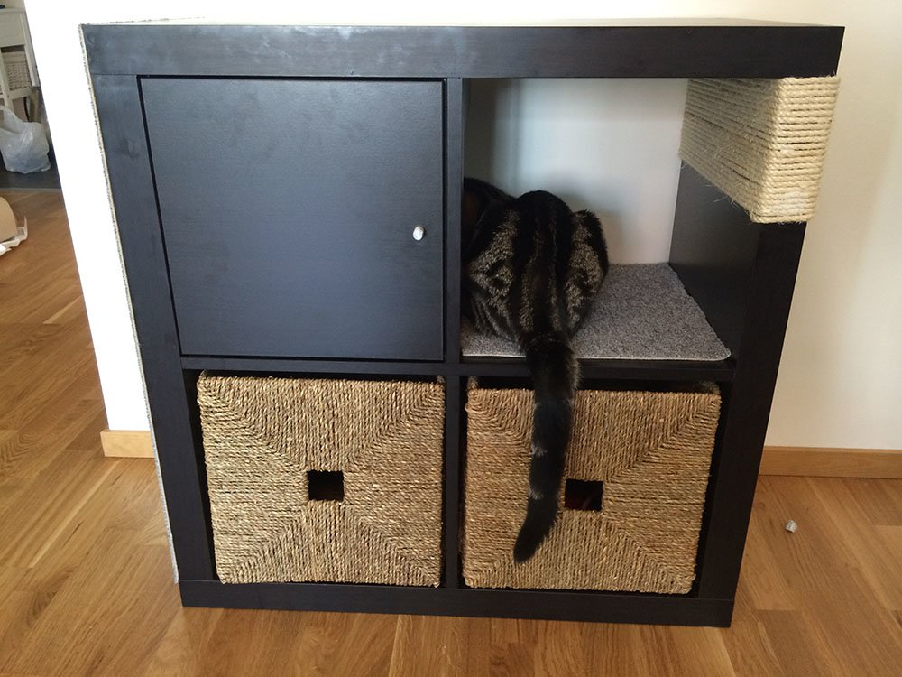 Ikea Hack Cat Scratching Post