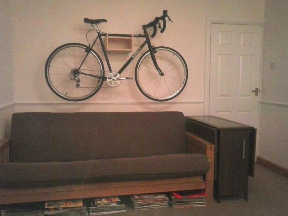 Rast Bike Wall Mount Ikea Hackers