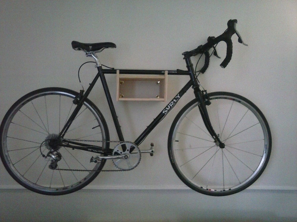 rast bike wall mount ikea hackers ikea hackers. Black Bedroom Furniture Sets. Home Design Ideas