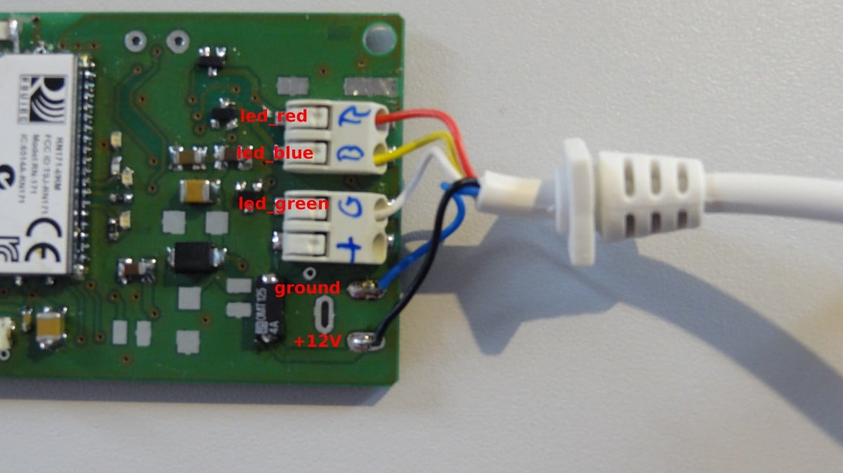 Wi-fi Dioder  Light Controls On Your Smartphone