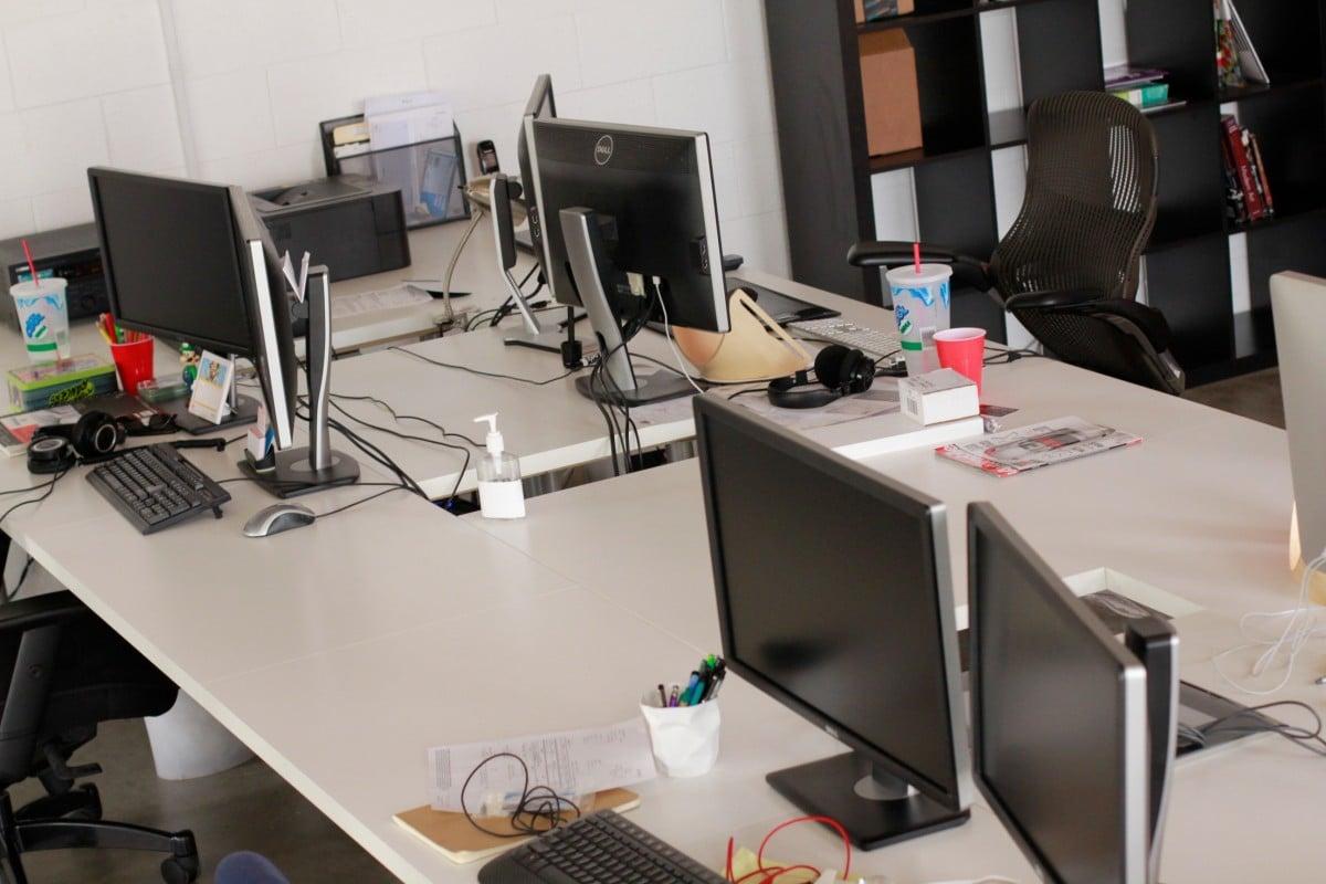 Best Work Desk giant work desk! - ikea hackers - ikea hackers