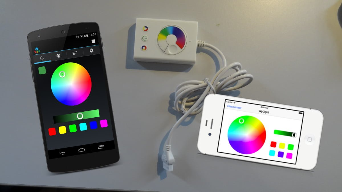 Wi Fi Dioder Light Controls On Your Smartphone