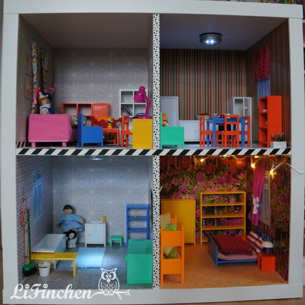 2 Fabulous Diy Dollhouses From Ikea Kallax Expedit Ikea
