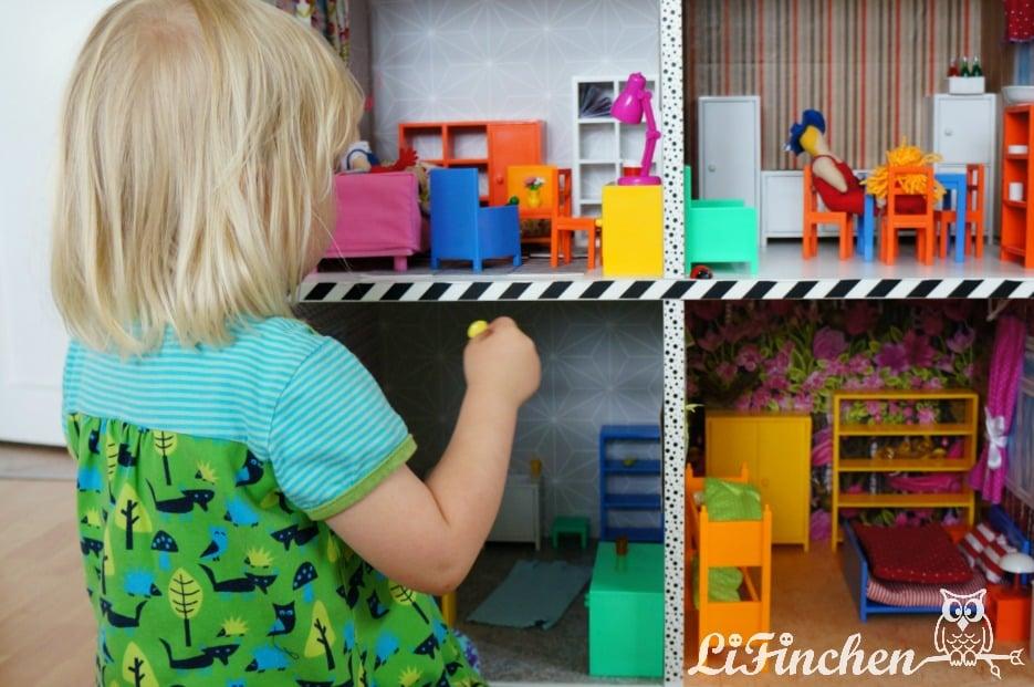 IKEA KALLAX DIY dollhouse