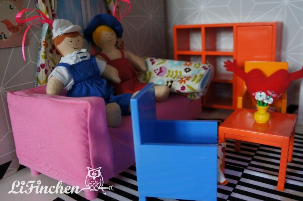 HUSET dollhouse furniture sets