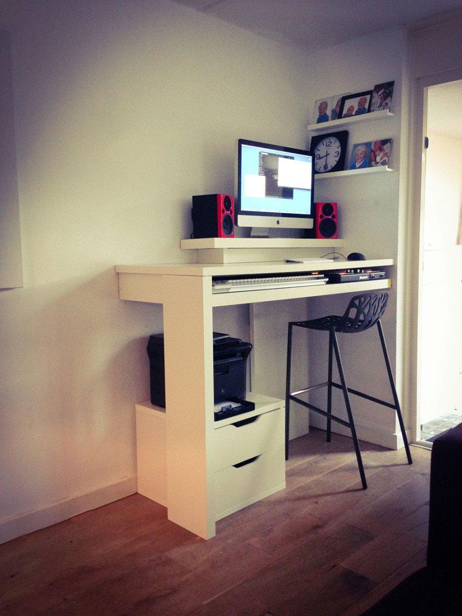 Standing Work Desk And Dj Booth Ikea Hackers Ikea Hackers