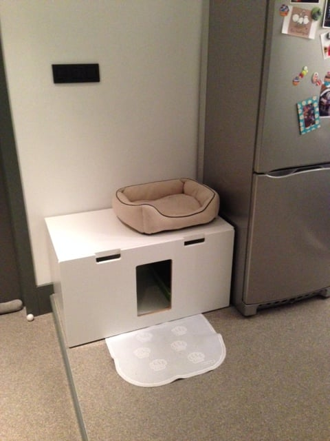 Stuva Litterbox For 4 Kitties Ikea Hackers Ikea Hackers