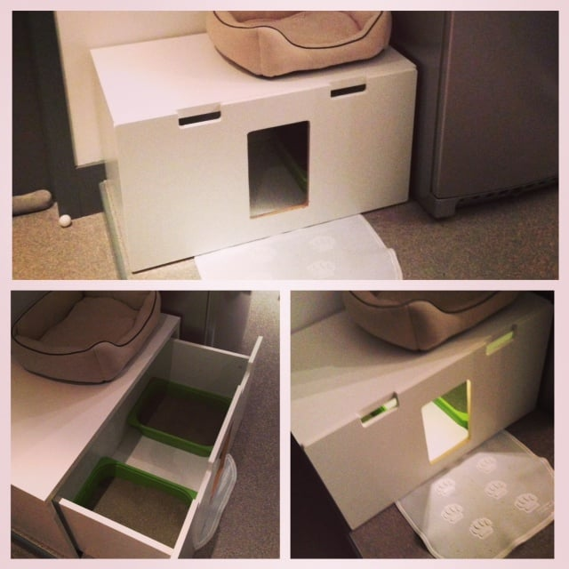 stuva litterbox for 4 kitties ikea hackers. Black Bedroom Furniture Sets. Home Design Ideas
