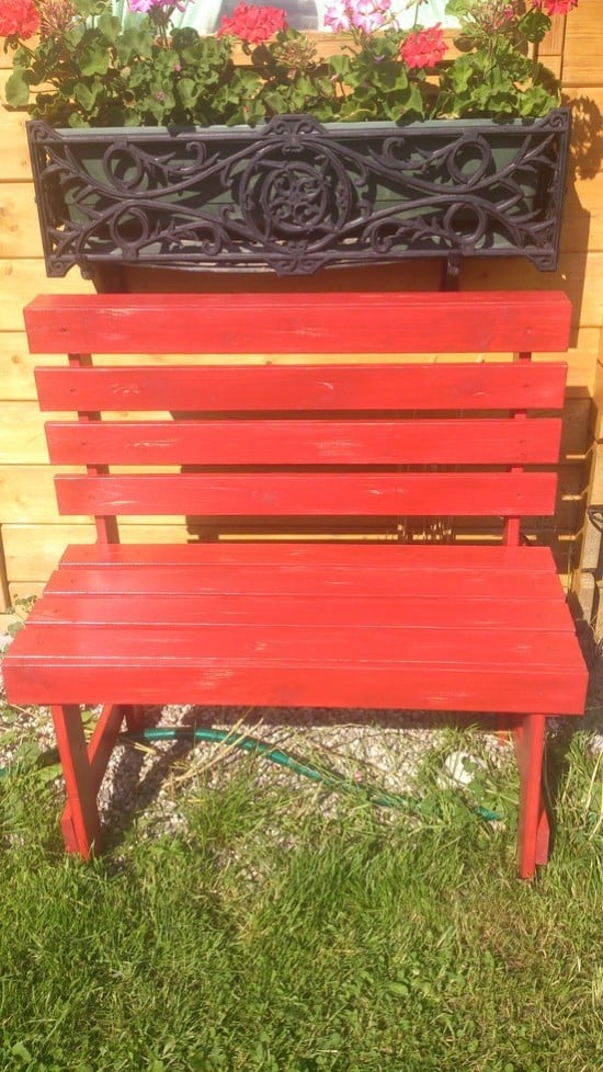 red bench1