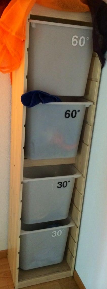 trofast laundry organizer