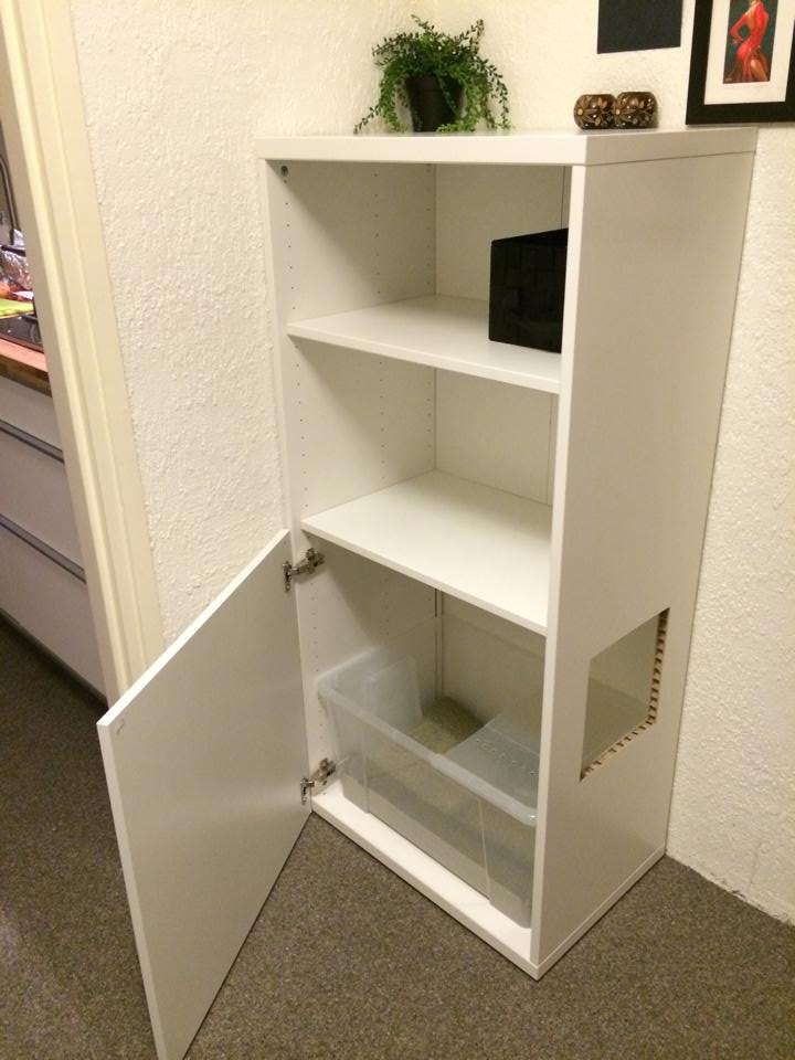 Top Entry BESTA Litterbox IKEA Hackers