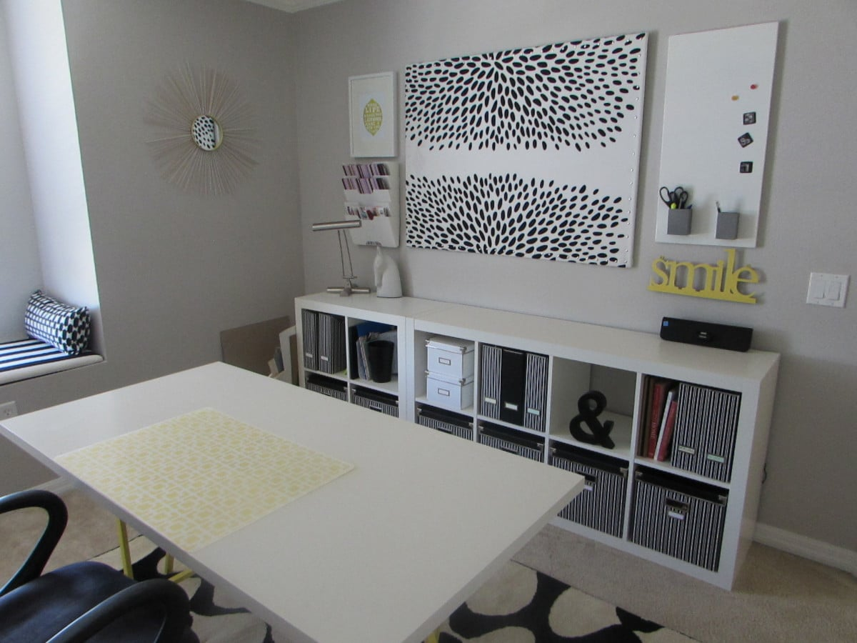 creating a retro modern office ikea hackers ikea hackers. Black Bedroom Furniture Sets. Home Design Ideas