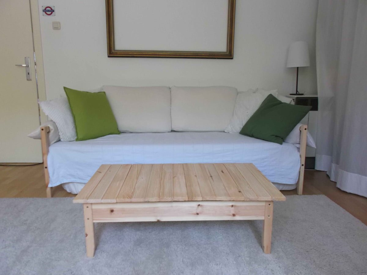 Tarva Daybed Hack Two Fjellse Beds Make A Living Room Ikea Hackers Ikea