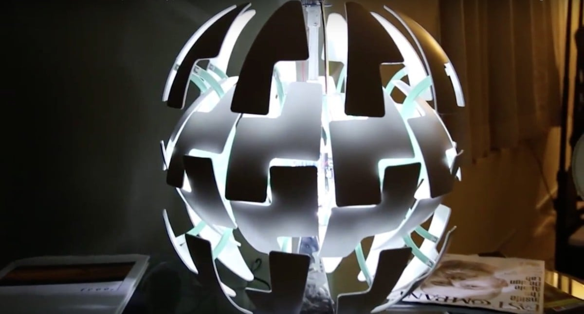 Arduino Motion Activated PS 2014 Lamp