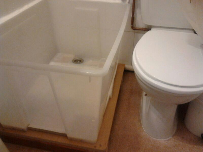 Shower Base From Ikea Samla Plastic Box Ikea Hackers