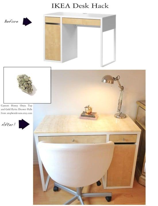 Luxury Micke Desk Ikea Hackers