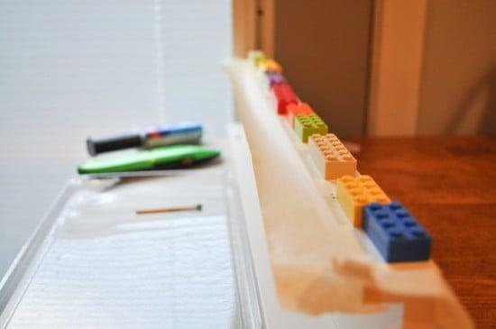 Ikea Photo Ledge + Lego-1-9