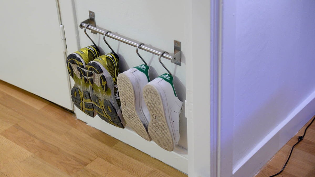 Super Compact Shoe Storage Using Grundtal Ikea Hackers