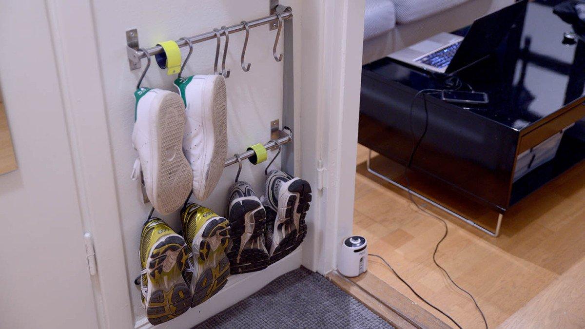 Super Compact Shoe Storage Using Grundtal Ikea Hackers