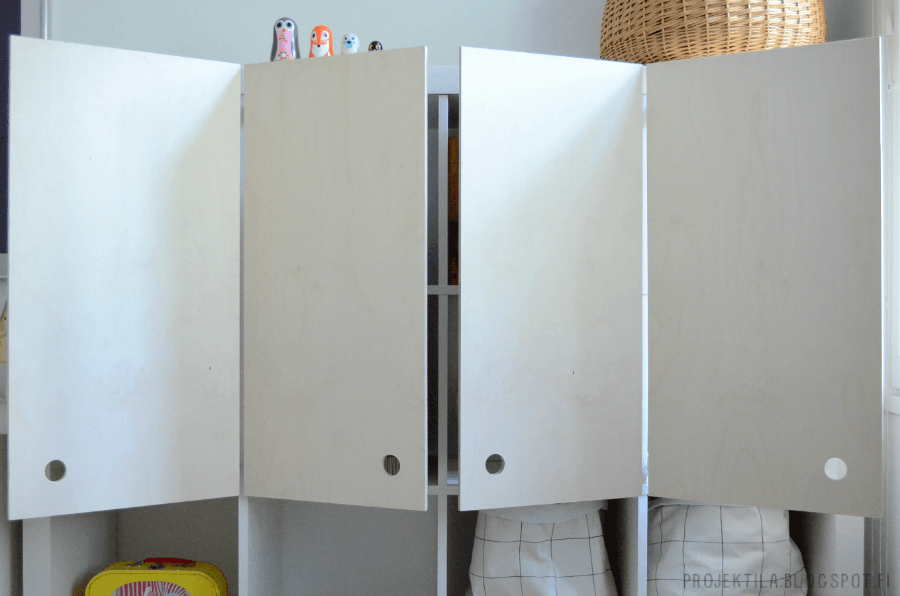 diy plywood doors for ikea expedit shelf ikea hackers. Black Bedroom Furniture Sets. Home Design Ideas