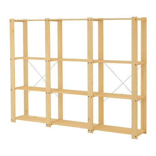 good wood storage shelves ikea cabinets