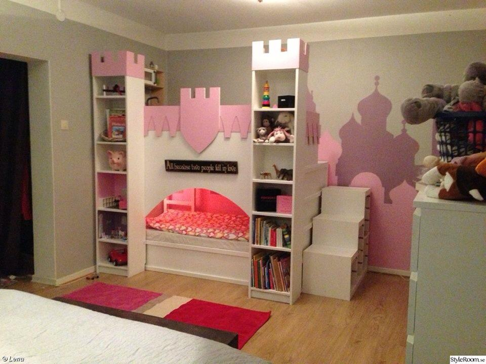 kura castle with upper play deck ikea hackers ikea hackers. Black Bedroom Furniture Sets. Home Design Ideas