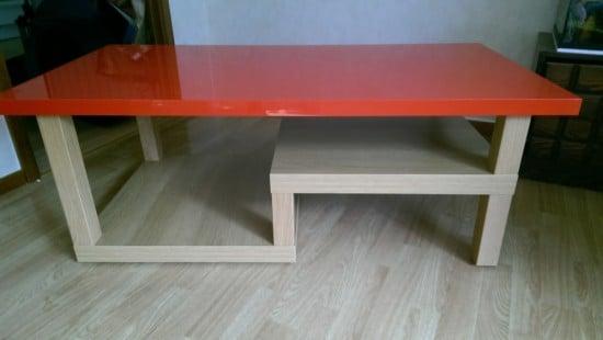 lack table 13