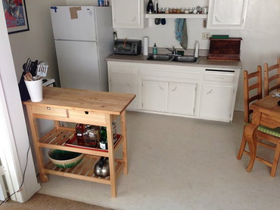 Mini Bar Forhoja Kitchen Cart Modified For Tall Bottles Ikea Hackers Ikea Hackers