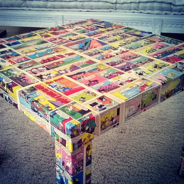 IKEA Comic Tables