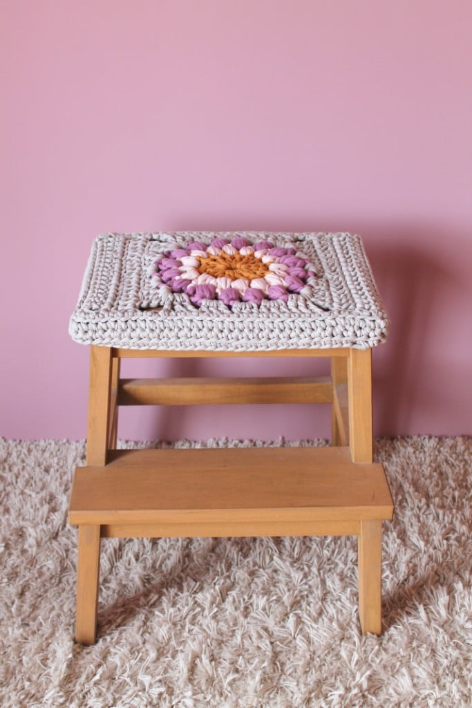 Bekv M Stool Crochet Cover Ikea Hackers Ikea Hackers
