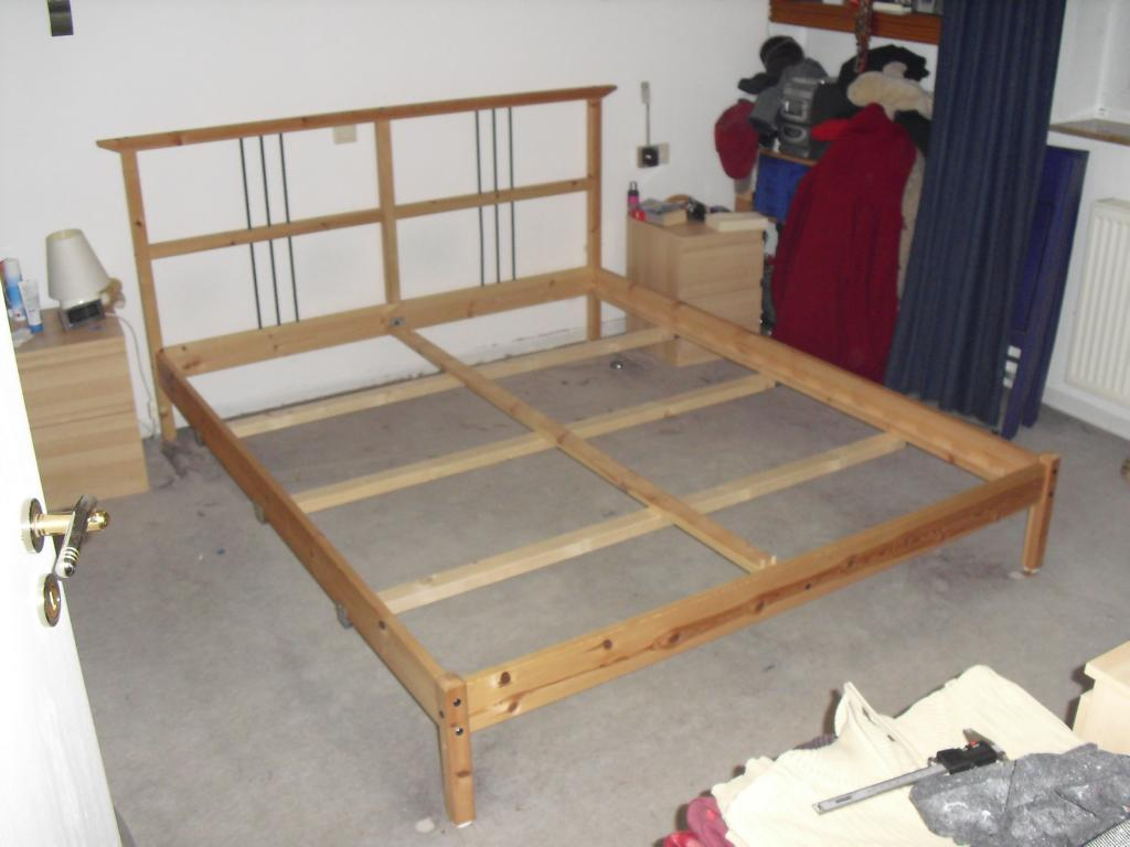 Making a loft bed from the dalselv ikea hackers bloglovin - Discontinued ikea beds ...