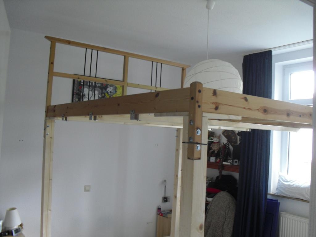 Making A Loft Bed From The Dalselv